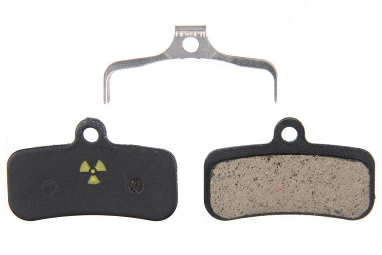 Nukeproof Shimano Saint-Zee-TRP Quadiem-Slate Brake Pads to suit Sur-Ron Light Bee - Stag Motorcycles