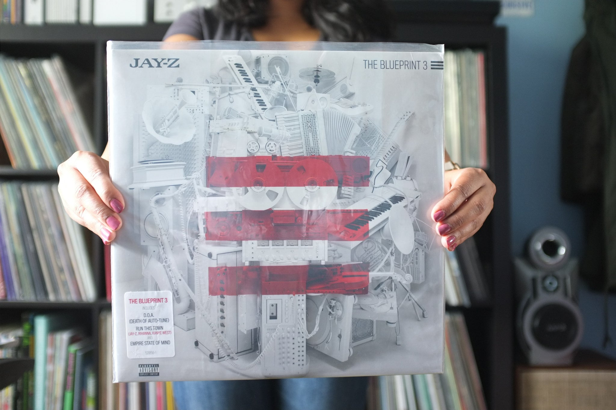 Jay z the blueprint 3 vees record shelf jay z the blueprint 3 malvernweather Image collections