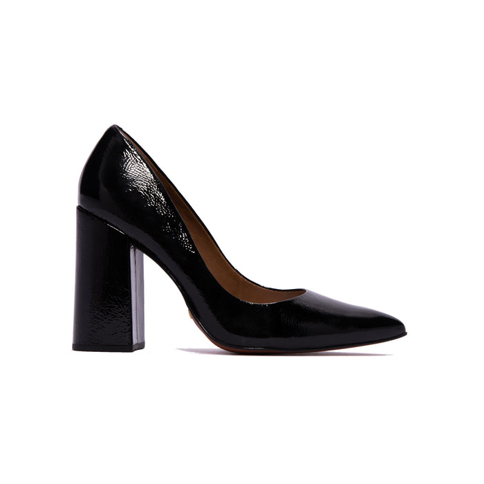Ciana Black Naplack Pumps
