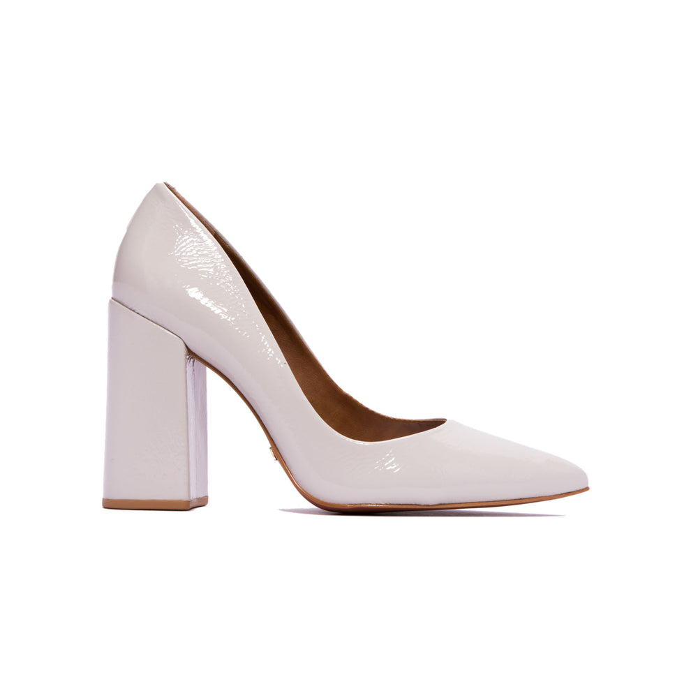 Load image into Gallery viewer, Ciana Light Grey Naplack Pumps