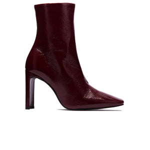 Load image into Gallery viewer, Lyon Bordeaux Naplack Ankle Boots