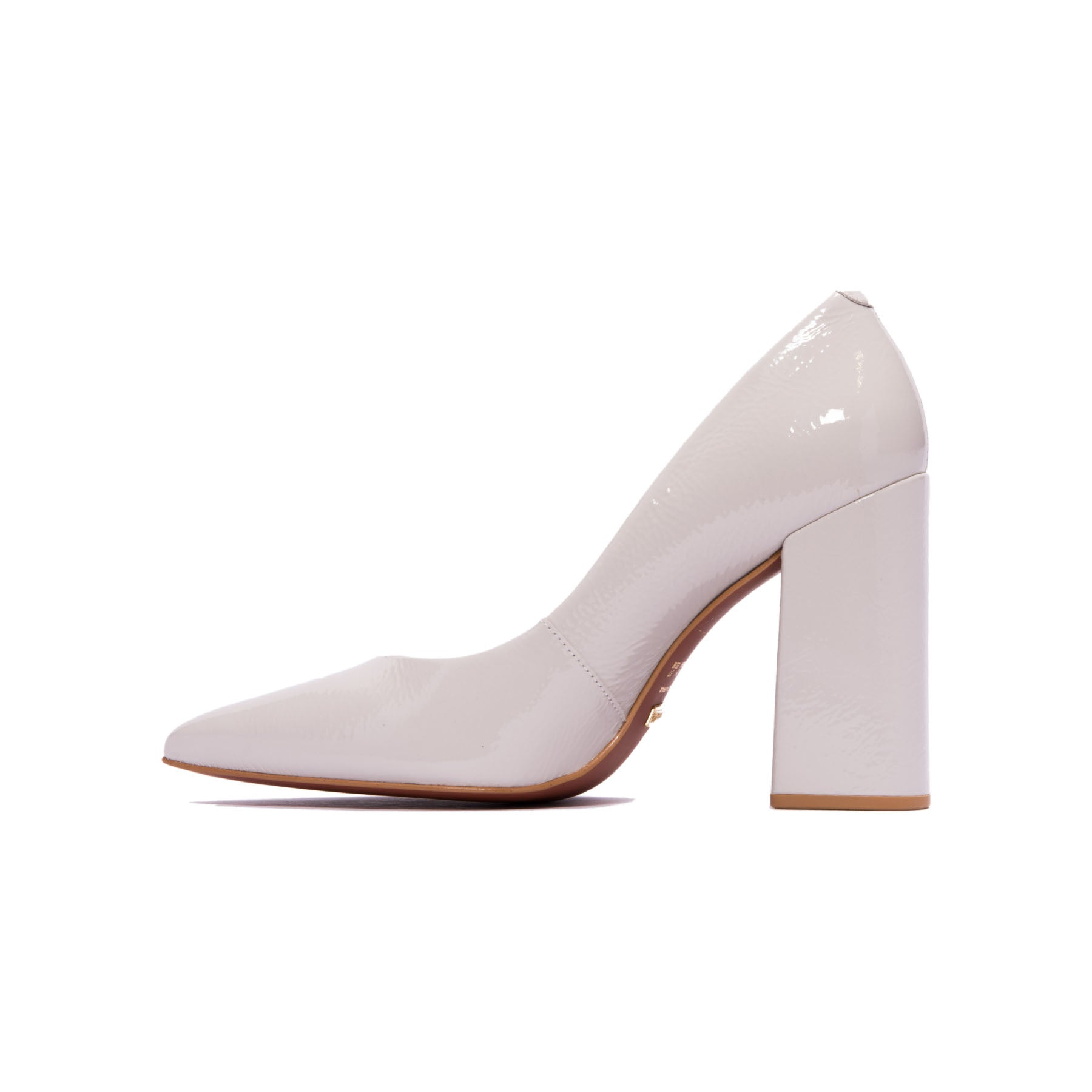 Ciana Light Grey Naplack Pumps