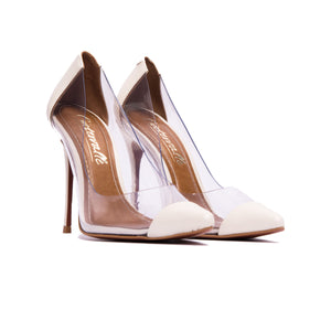 Corazon Vanilla Clear Pumps