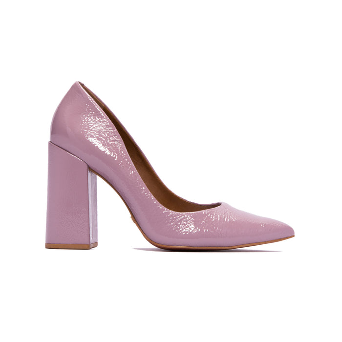 Ciana Lilac Naplack Pumps
