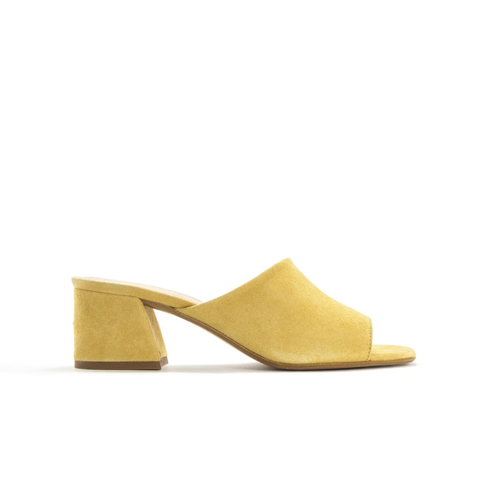 Zola Yellow Suede