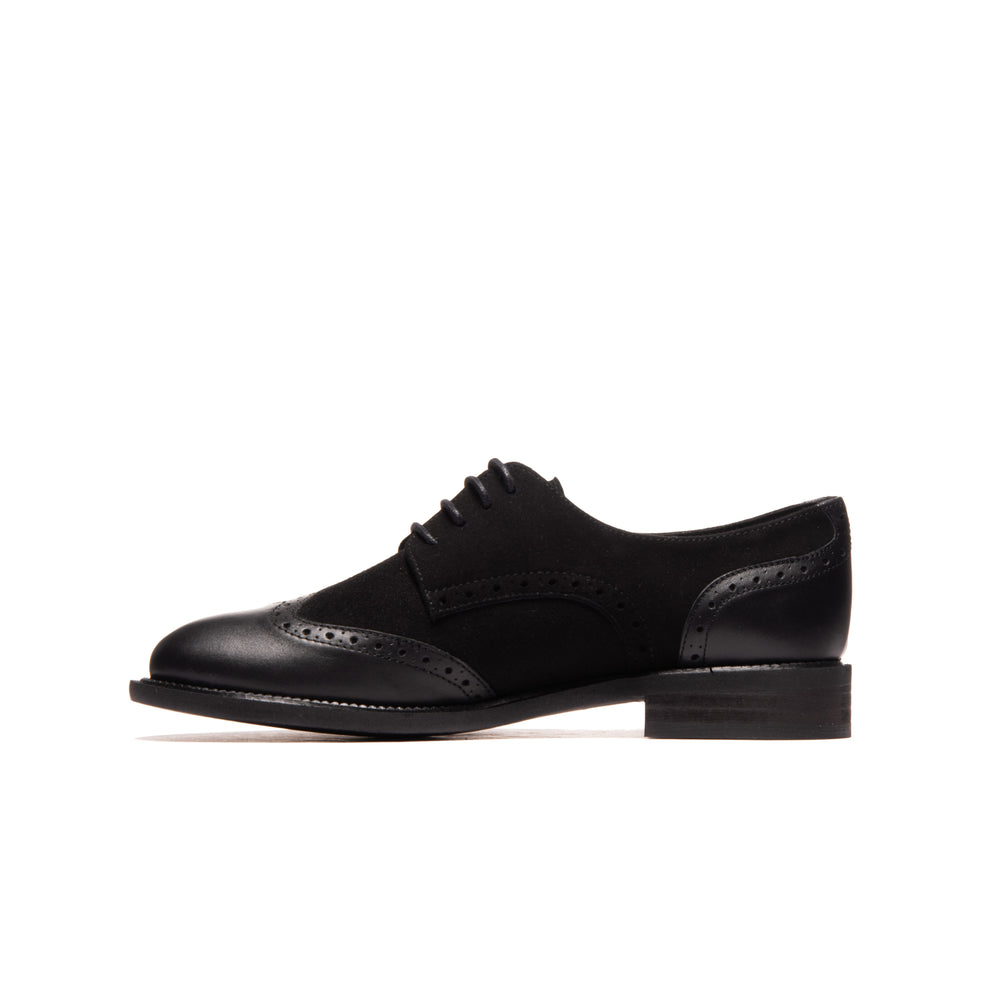 Murphy Black Leather/Suede