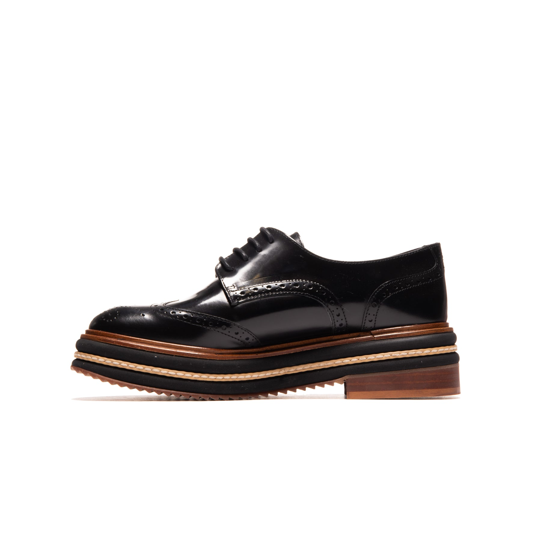 Mauna Black Leather