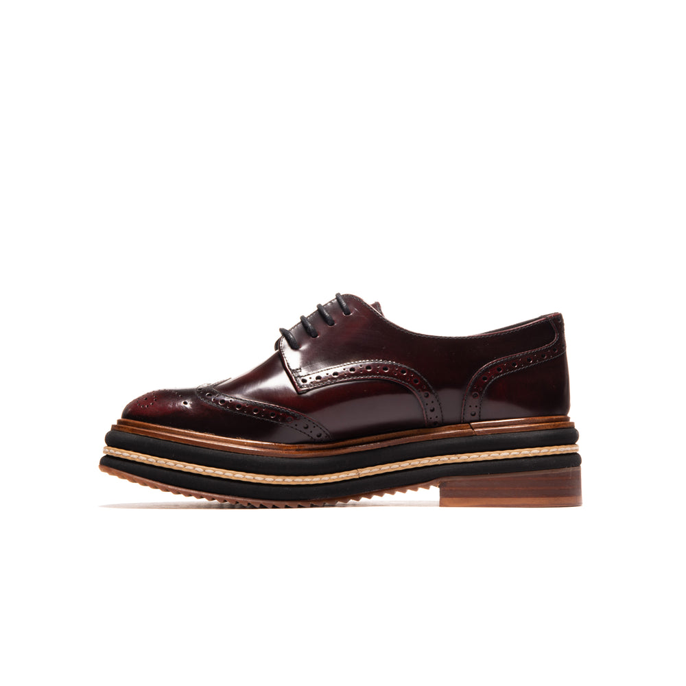 Mauna Bordeaux Leather
