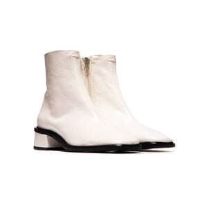 Dover Off White Leather