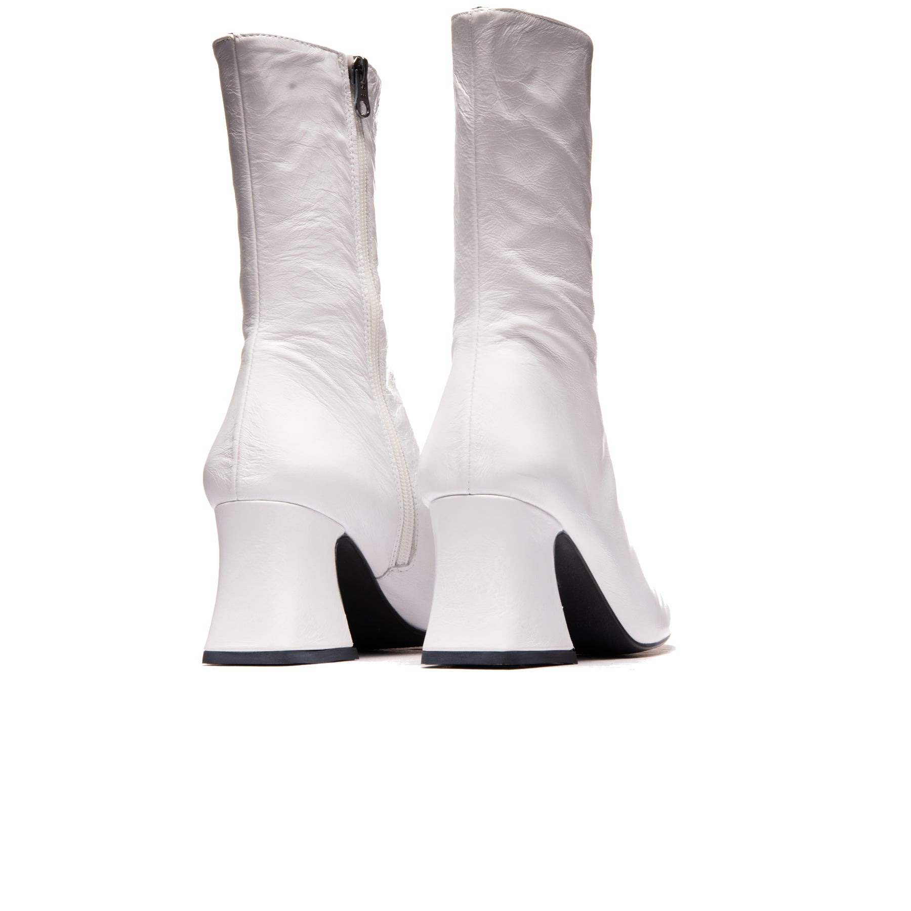 Cashel White Leather