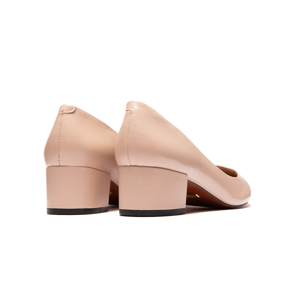 Jacinda Nude Leather
