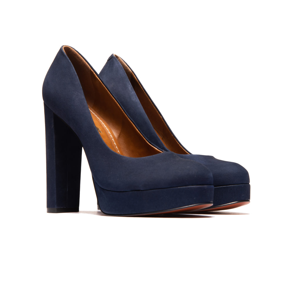 Load image into Gallery viewer, Lopez Navy Nubuck