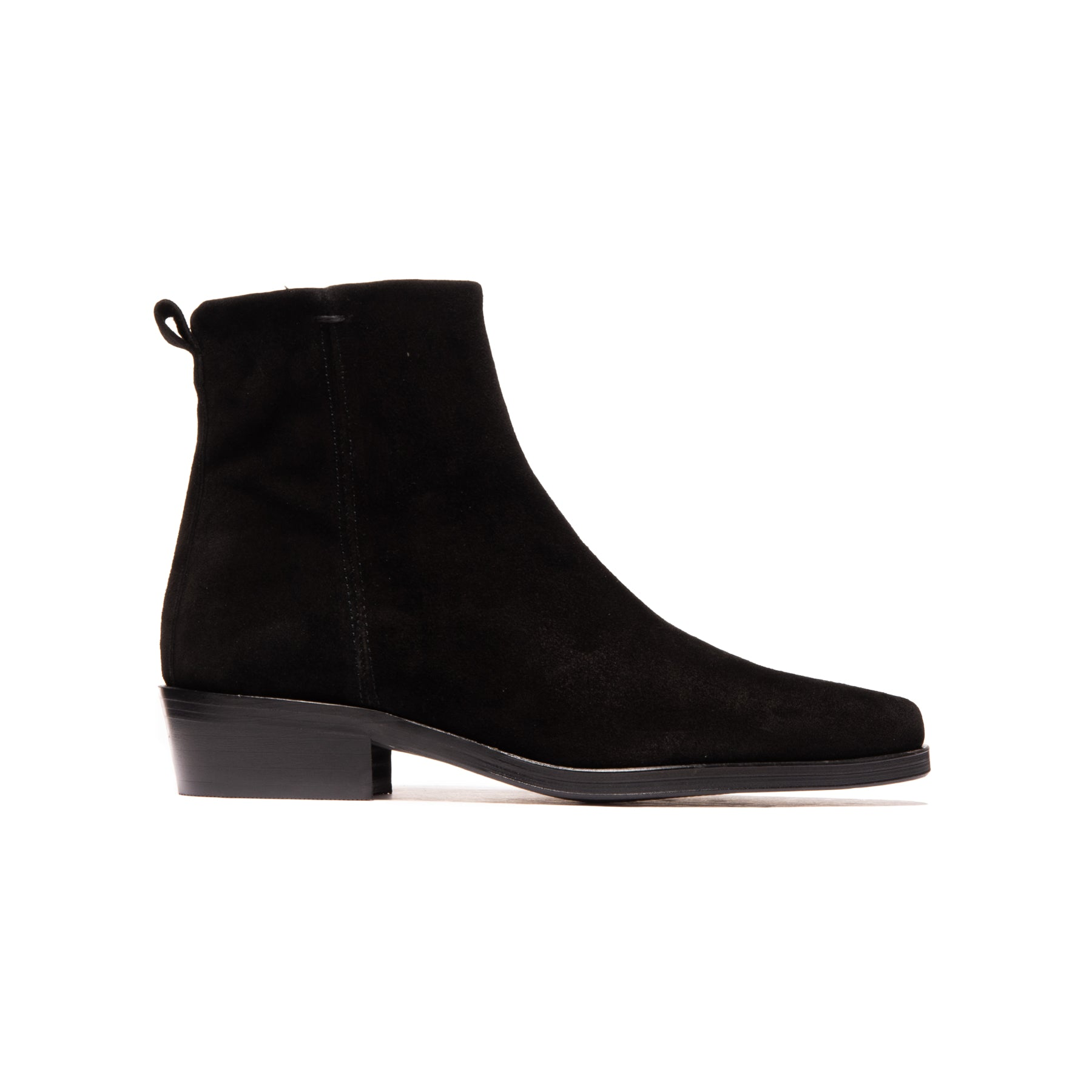 Givili Black Suede