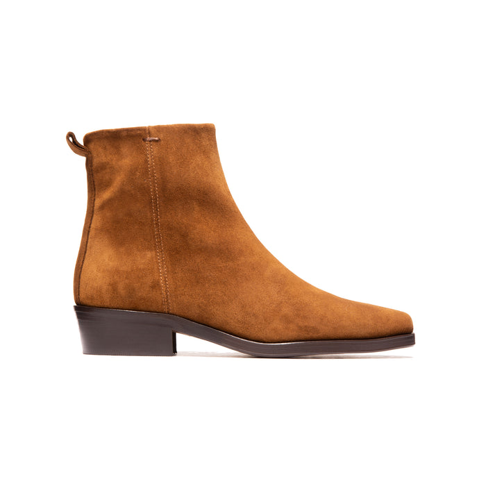Givili Brown Suede