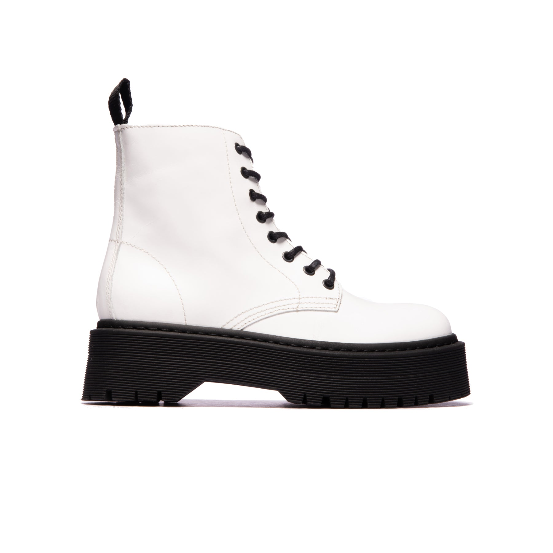 Josta White Leather