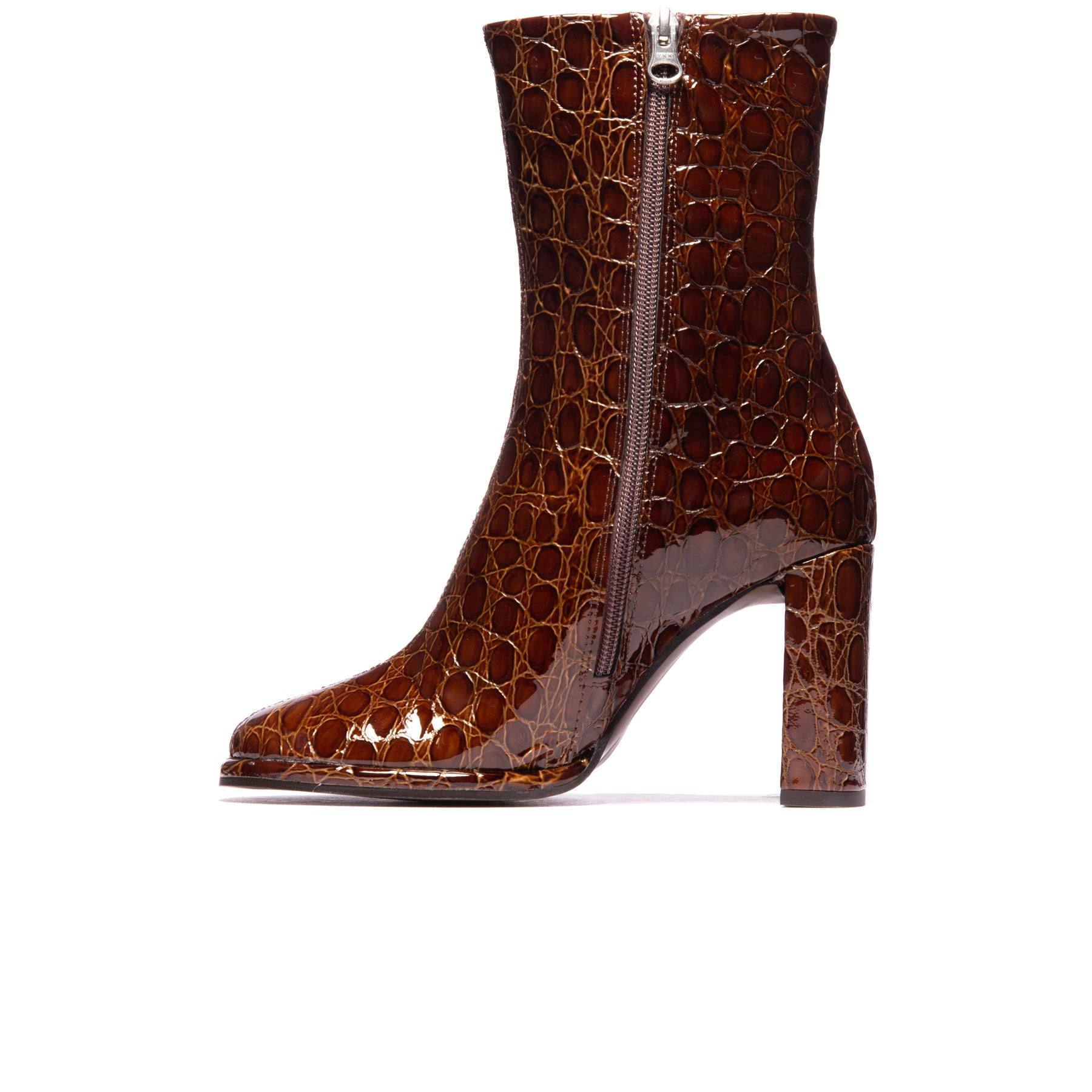 Rovani Tan Croco Leather
