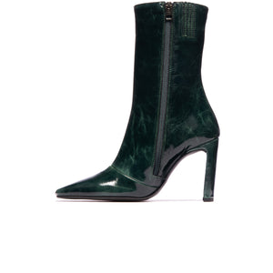 Stavi Green Leather