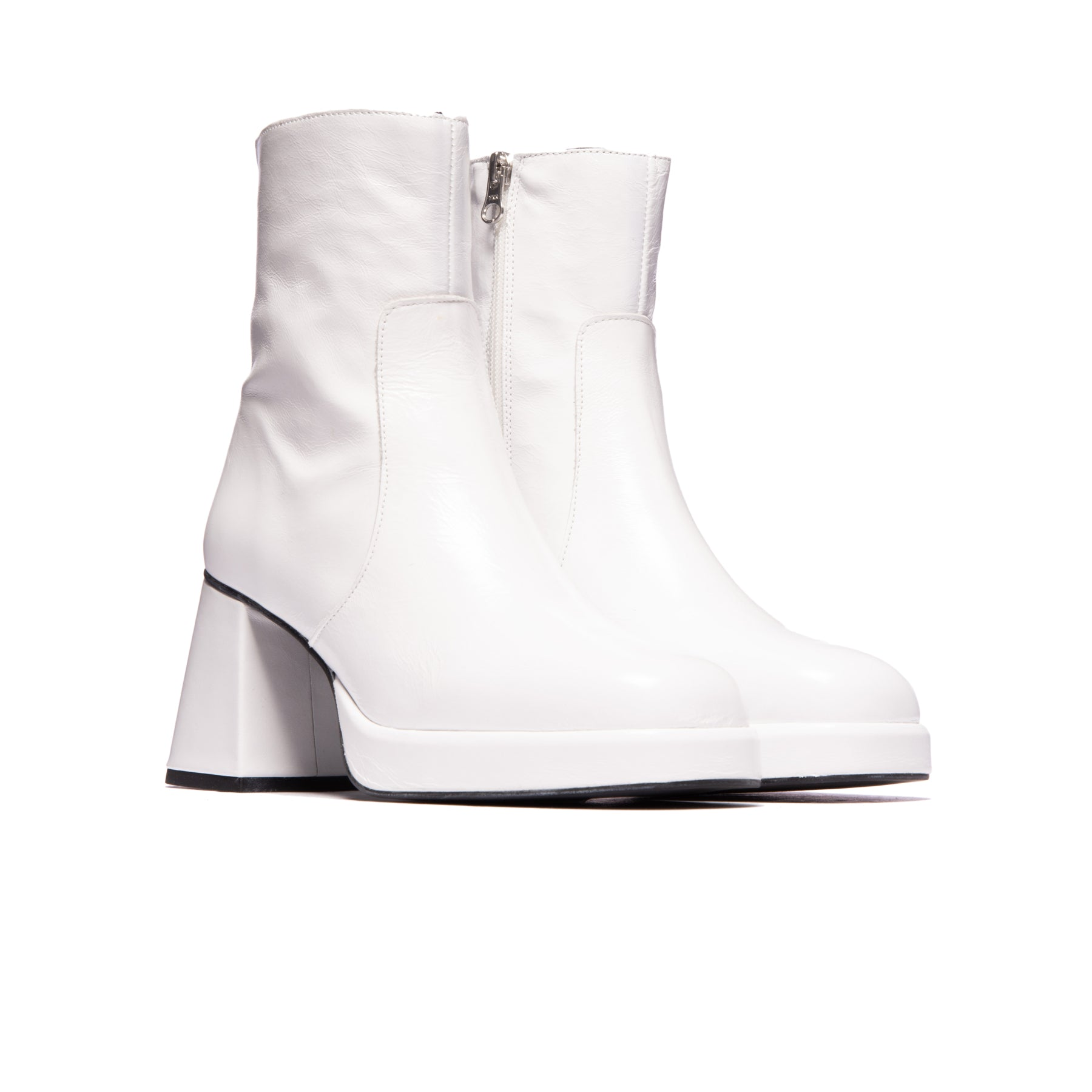 Wexford White Leather