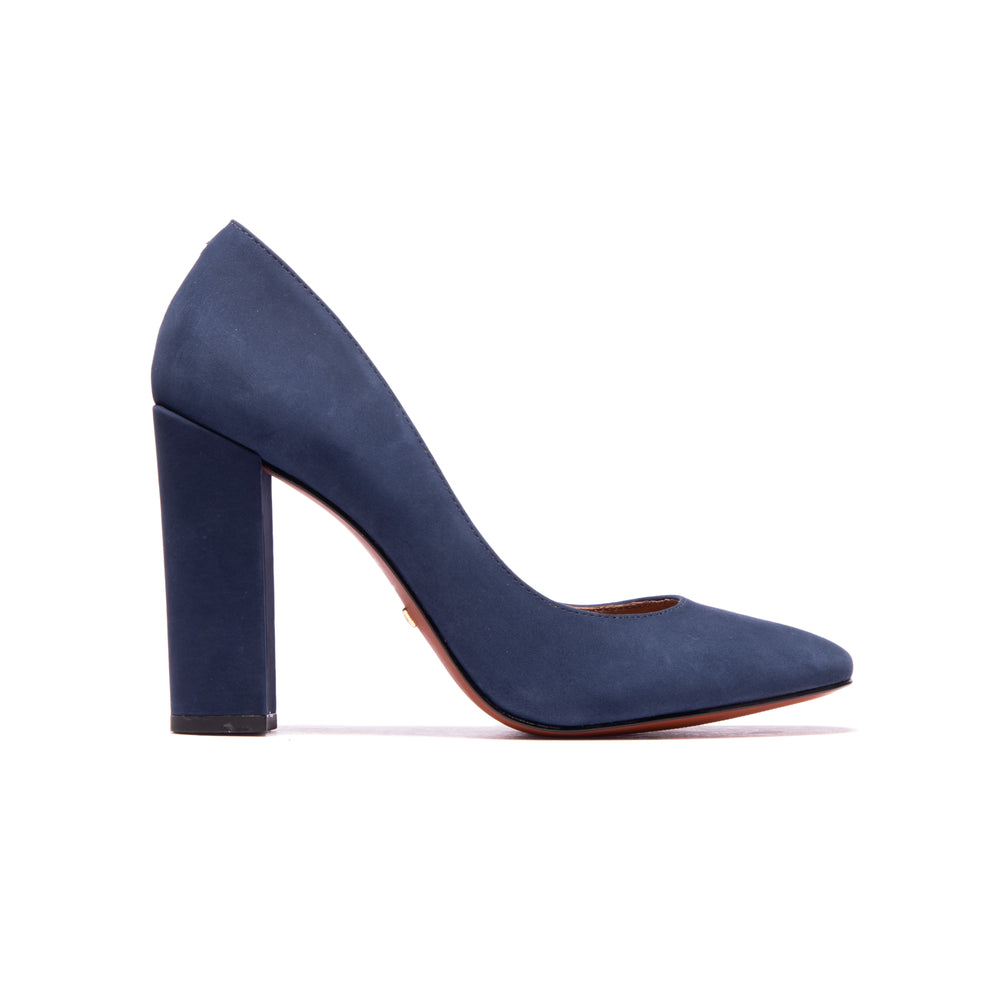 Load image into Gallery viewer, Hailey Navy Nubuck