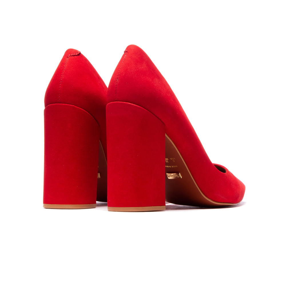 Catalina Red Nubuck