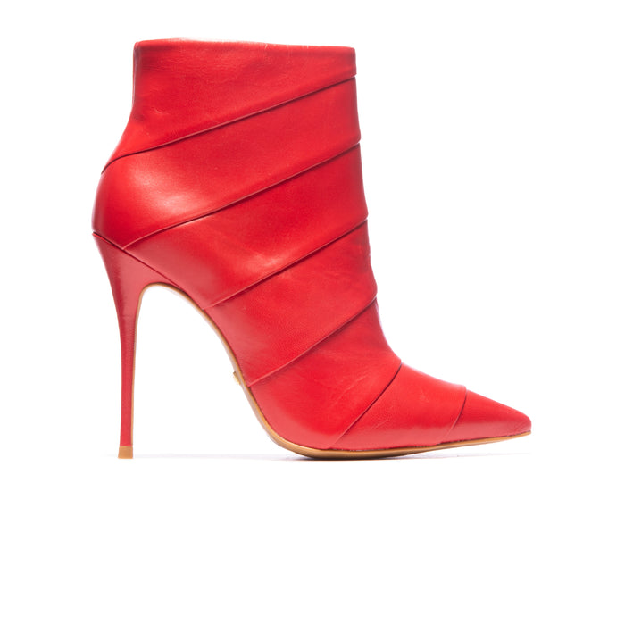 Adriana Red Leather