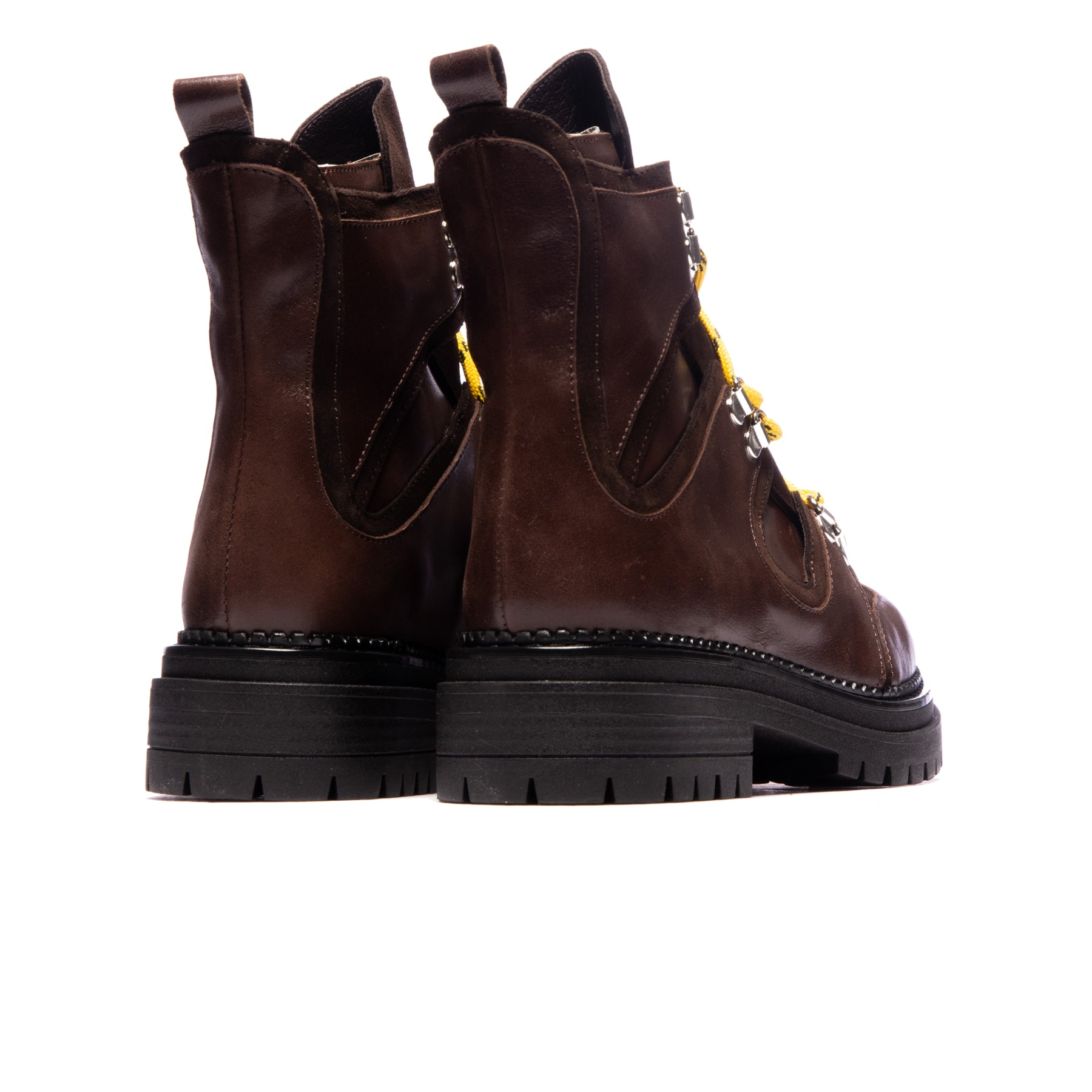 Drogba Dark Brown Leather