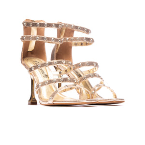 Fabiana Gold Crack Leather