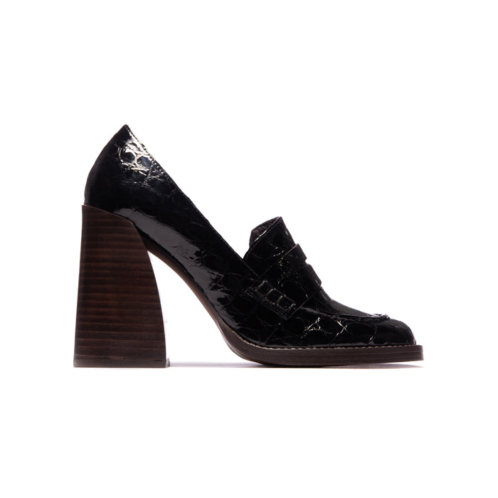 Gwenyth Black Croco