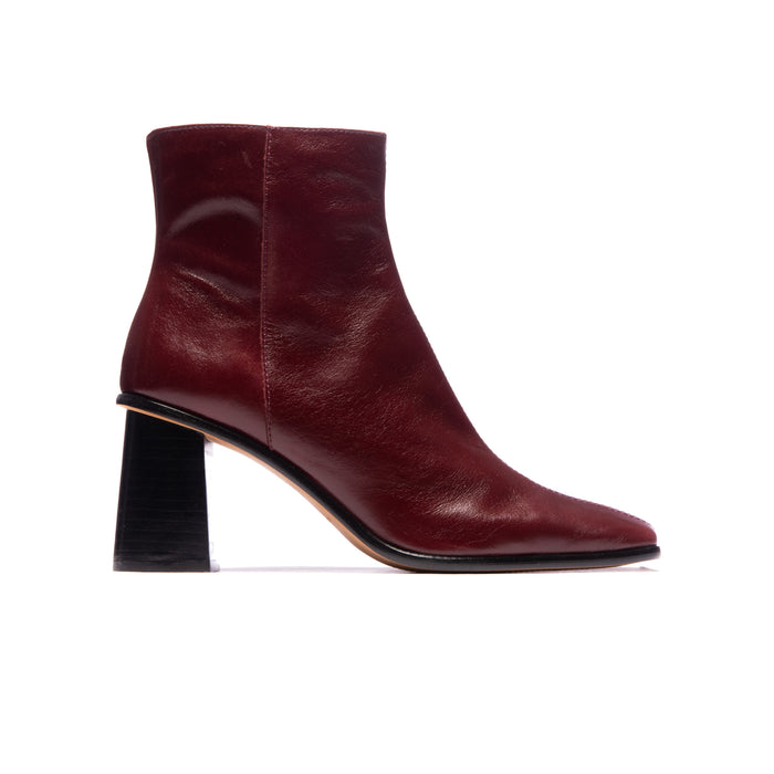 Rosabel Burgundy Leather