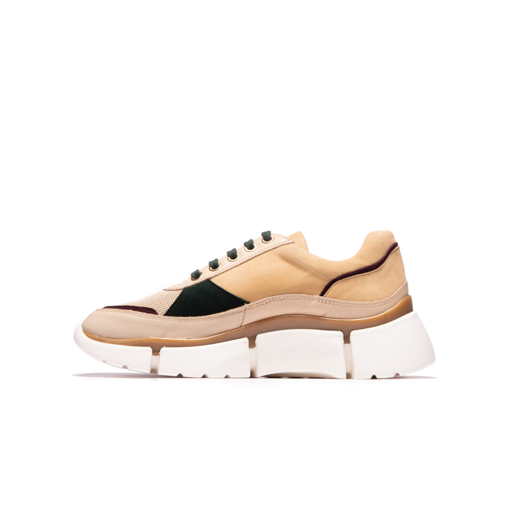 Poppy Beige Multi Leather