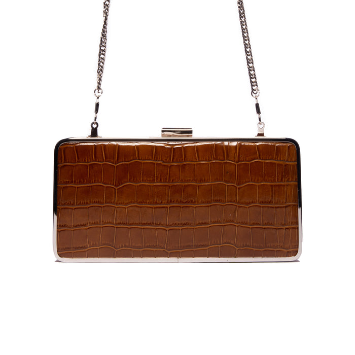 Theodore Tan Croco Leather Clutch