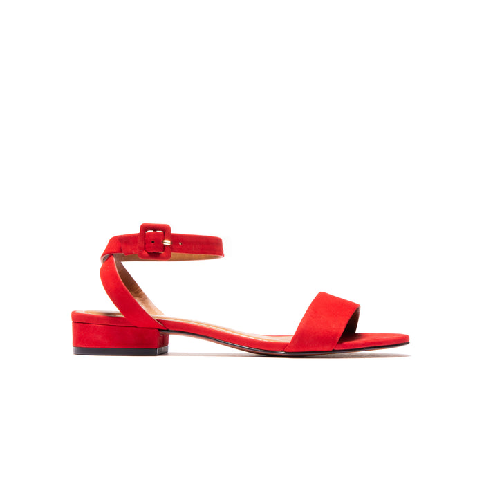 Topolina Red Nubuck