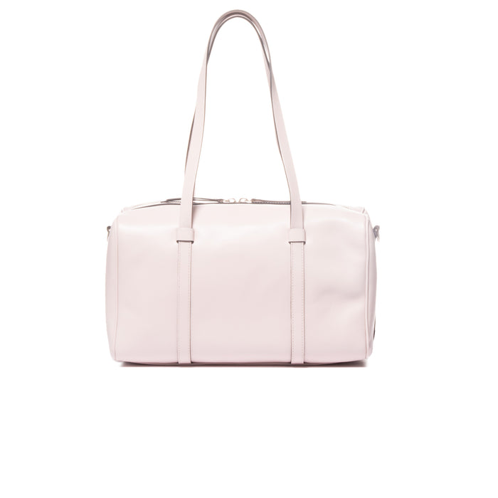 Leandre Blush Leather Mini Duffle Bag