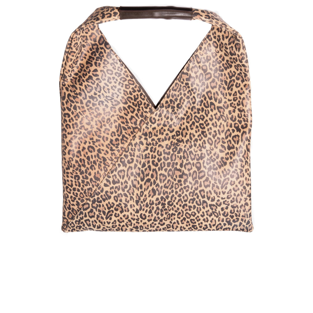 Load image into Gallery viewer, Victoire Leopard Print Tote Bag