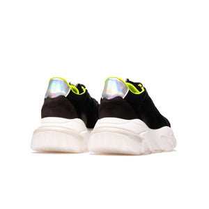 Chiba Black Leather/Lemon