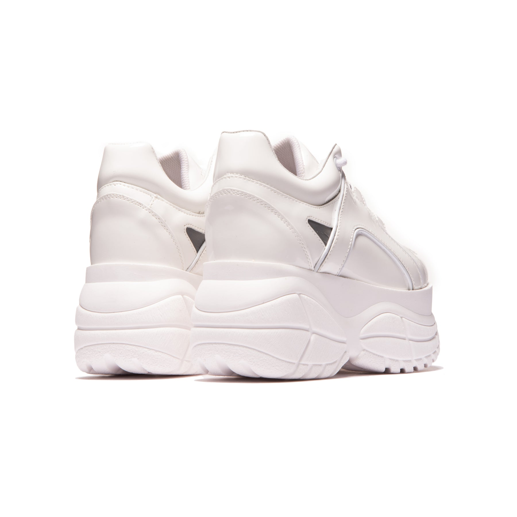 Roadster White Patent