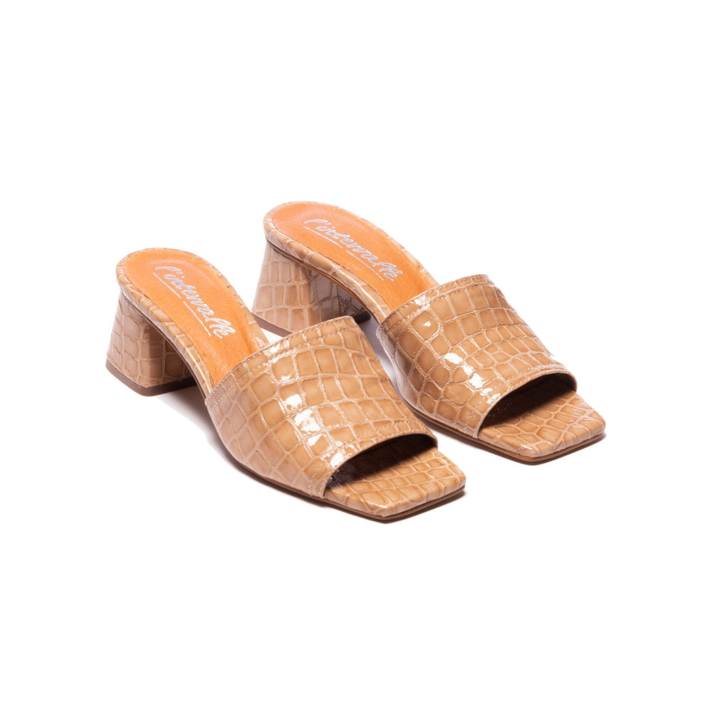 Load image into Gallery viewer, Kenya Camel Croco Leather