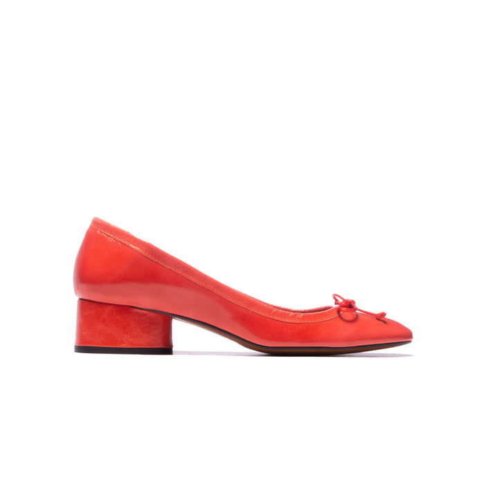 Cameron Coral Leather