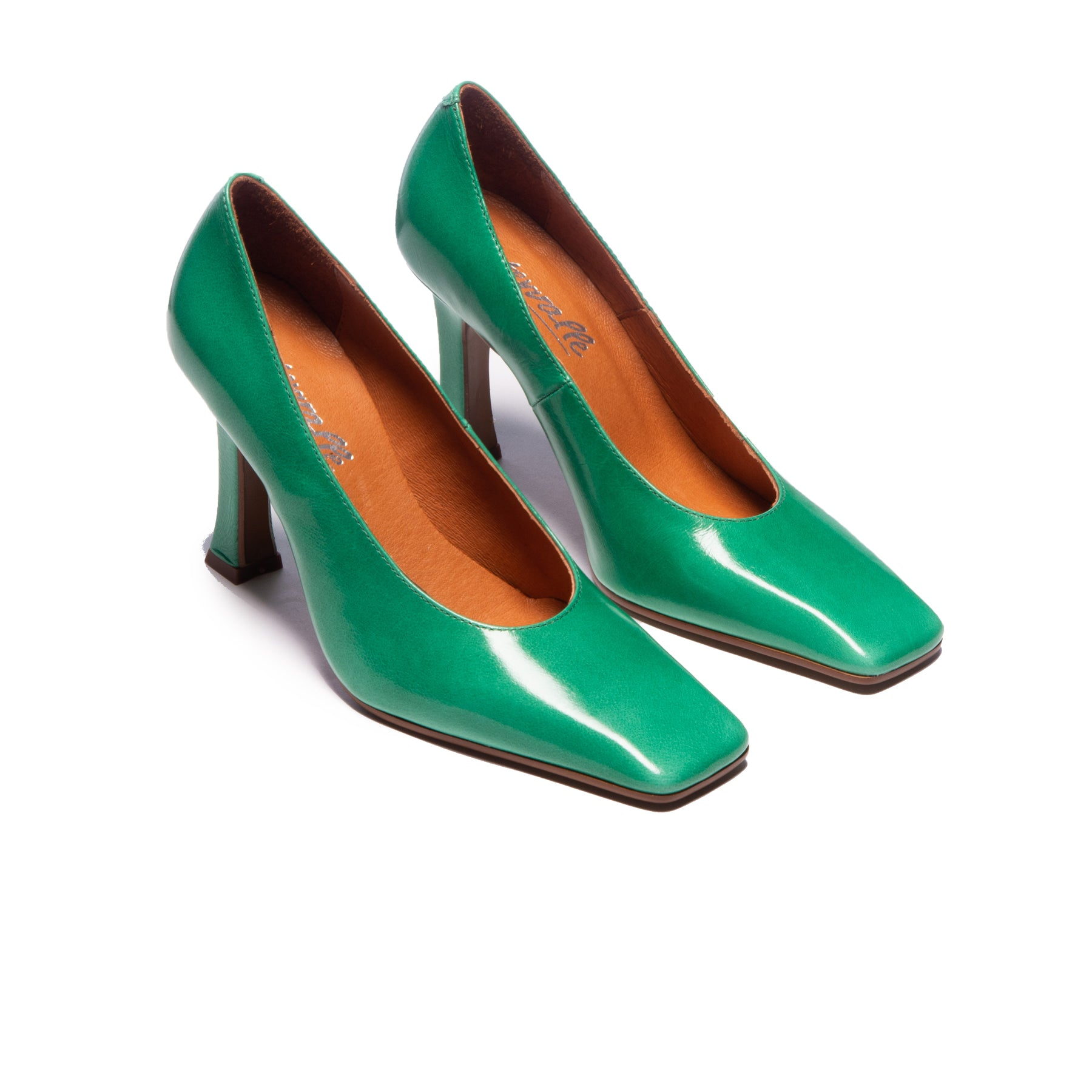 Serilda Green Leather