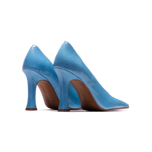 Serilda Blue Leather