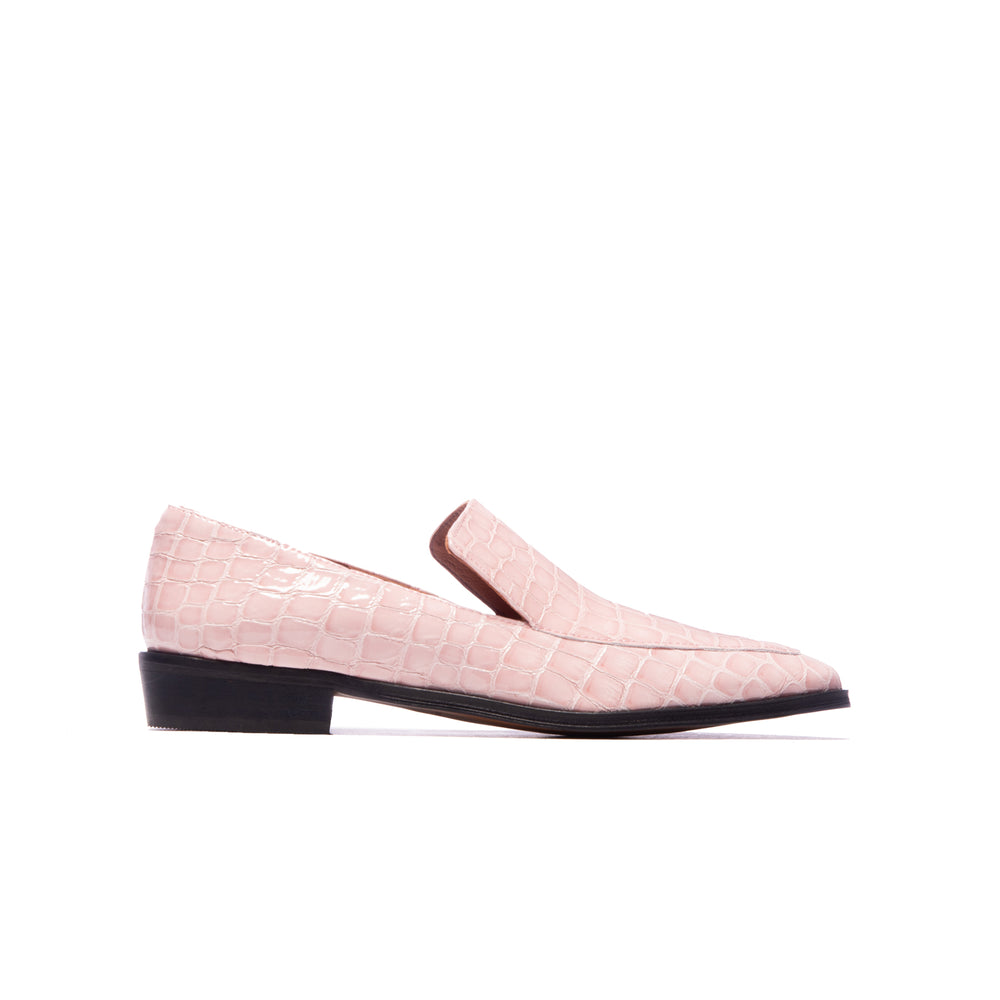 Marisol Rose Croco Leather