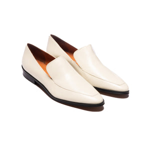 Marisol White Leather