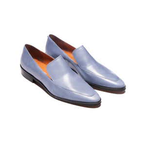 Marisol Light Blue Leather