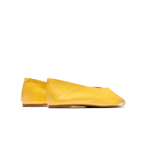Load image into Gallery viewer, Lotus Yellow Leather