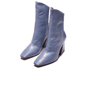 Lizzo Blue Leather