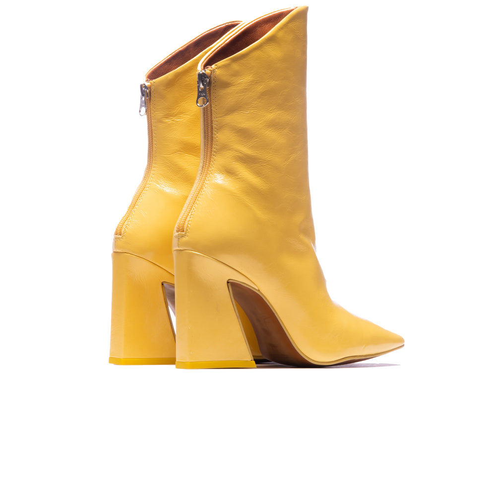 Lizzo Yellow Leather