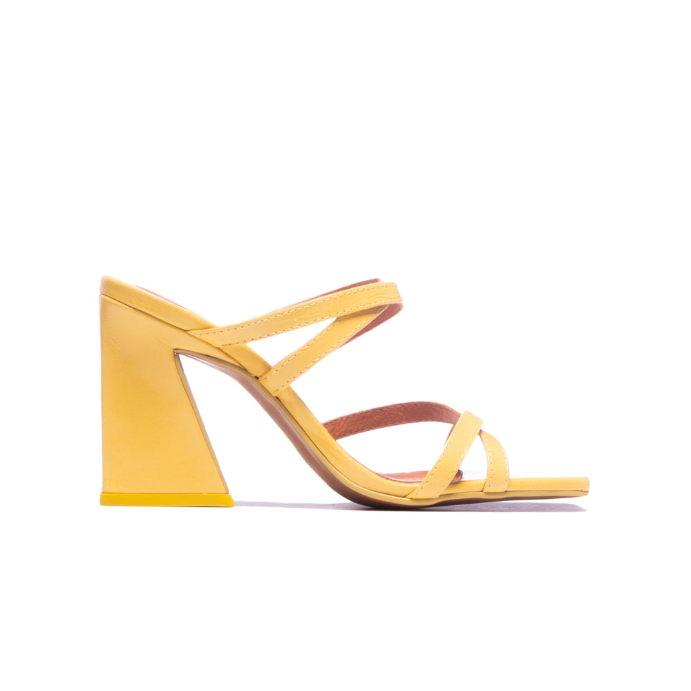 Brandi Yellow Leather