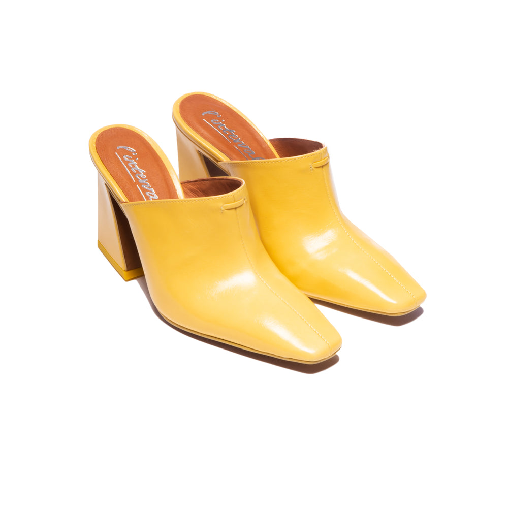 Tiffany Yellow Leather