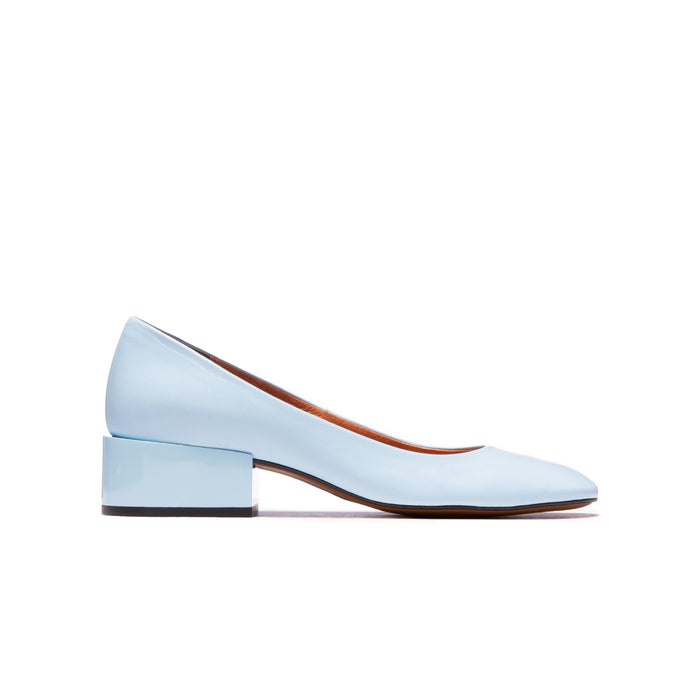 Armini Light Blue Leather