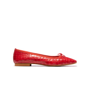 Avery Red Croco